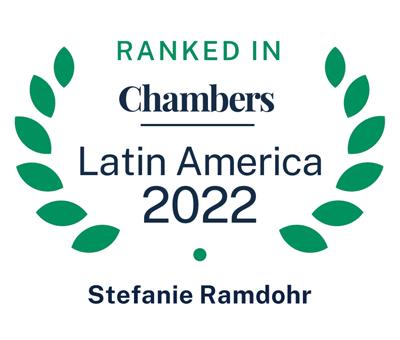 Ranked in Chambers Latin America 2022